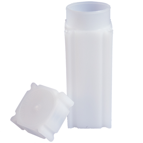 CoinSafe Square Coin Tube - Quarter / 24mm (Box of 100)
