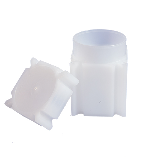 CoinSafe Square Coin Tube - Half Dollar / 31mm