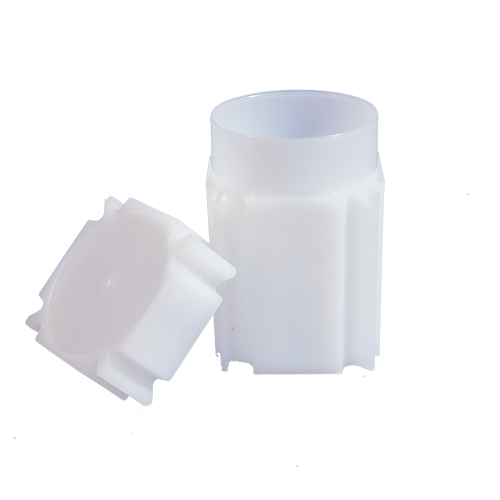 CoinSafe Square Coin Tube - Large Dollar / 38mm