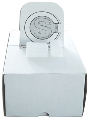 COINSAFE SQUARE COIN TUBE: PRESIDENTIAL/SBA/SACAGAWEA DOLLAR (26MM) BOX OF 100