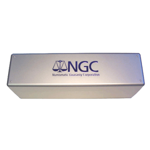 NGC Certified Coin Storage Box - 20 Slabs