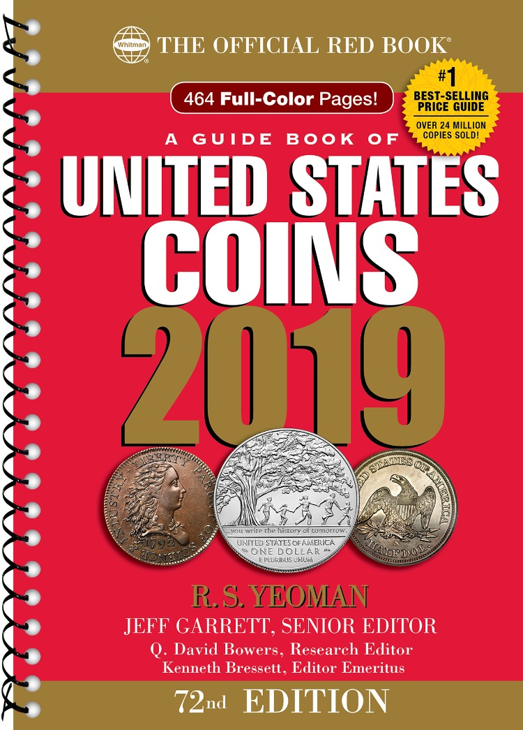 2019 Official Red Book of U.S. Coins - Spiral Bound