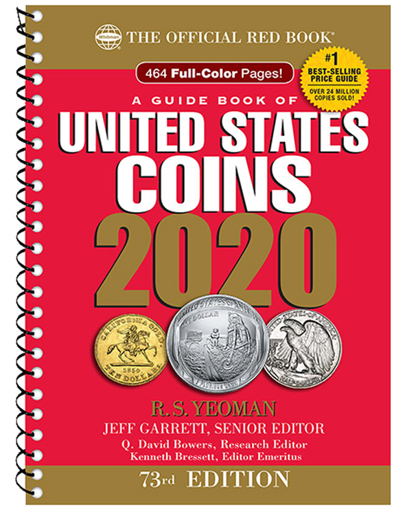 2020 Official Red Book of U.S. Coins - Spiral Bound