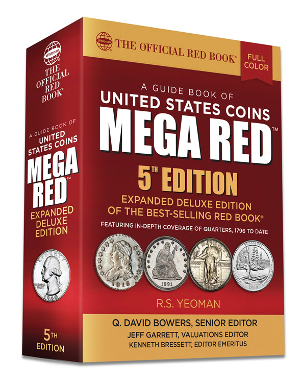 2020 Official Mega Red Book of U.S. Coins - Deluxe Edition