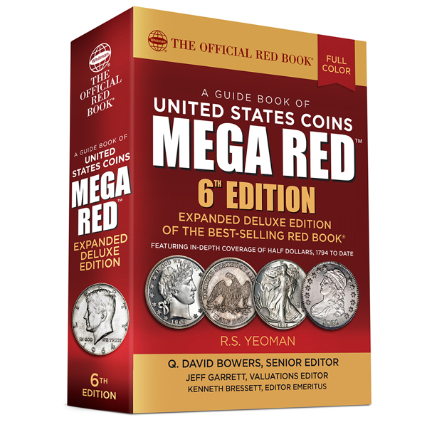 2021 Official Mega Red Book of U.S. Coins - Deluxe Edition