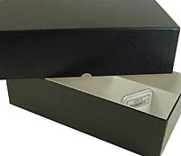 DOUBLE-ROW CERTIFIED COIN STORAGE BOX