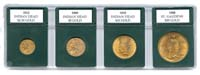 US GOLD TYPE SET HOLDER (4-COINS)