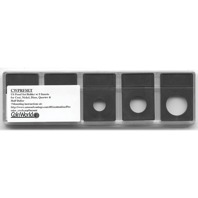 Coin World Premier Holder - US Proof Set (5-Pack)