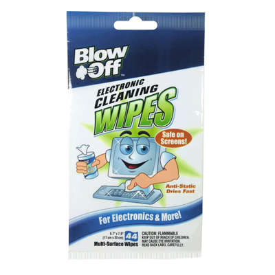 ELECTRONIC CLEANING WIPES (44 PACK)