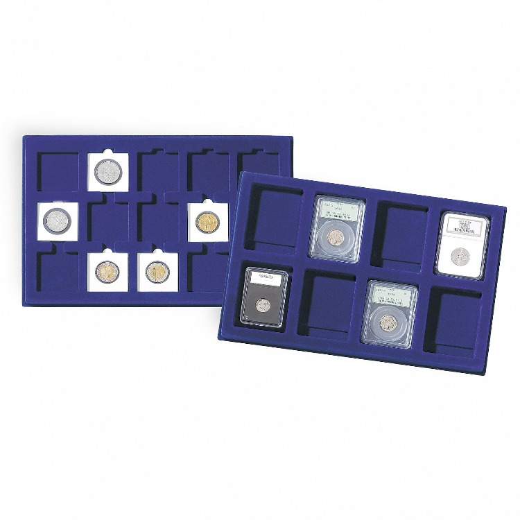Lighthouse Coin Presentation Tray - Up to 45mm (2-Pack)