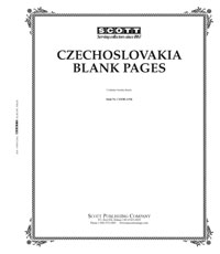 BLANK PAGES: CZECHOSLOVAKIA (20 PAGES)