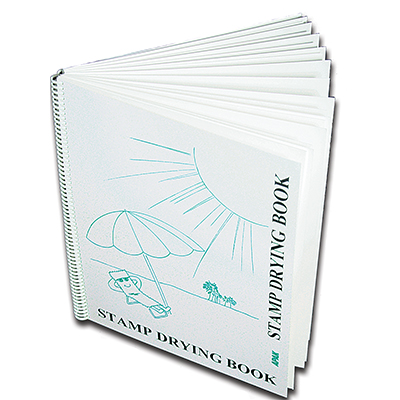 SPIRAL DRYING BOOK  (11 COMMERICAL-GRADE BLOTTING PAGES)