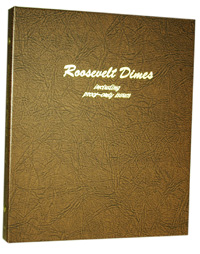 DANSCO ALBUM: US ROOSEVELT DIMES+PROOF ONLY ISSUES