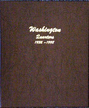 DANSCO ALBUM: US WASHINGTON QUARTERS 1932-98