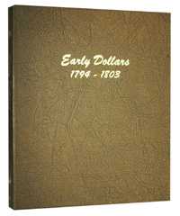 DANSCO ALBUM: US EARLY DOLLARS 1794-1803