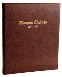 DANSCO ALBUM: US MORGAN DOLLARS 1891-1921