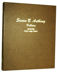 DANSCO ALBUM: US SUSAN B. ANTHONY DOLLARS + PROOF ONLY ISSUES