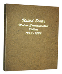 DANSCO ALBUM: US COMMEMORATIVE DOLLARS-1983-1994