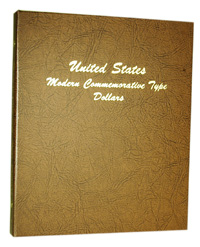 DANSCO ALBUM: US COMMEMORATIVE TYPE DOLLARS 1983-2004