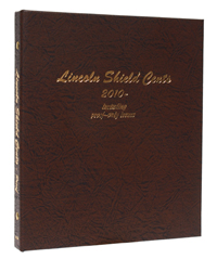 DANSCO ALBUM: US LINCOLN SHIELD CENTS 2010 - DATE W/PROOFS