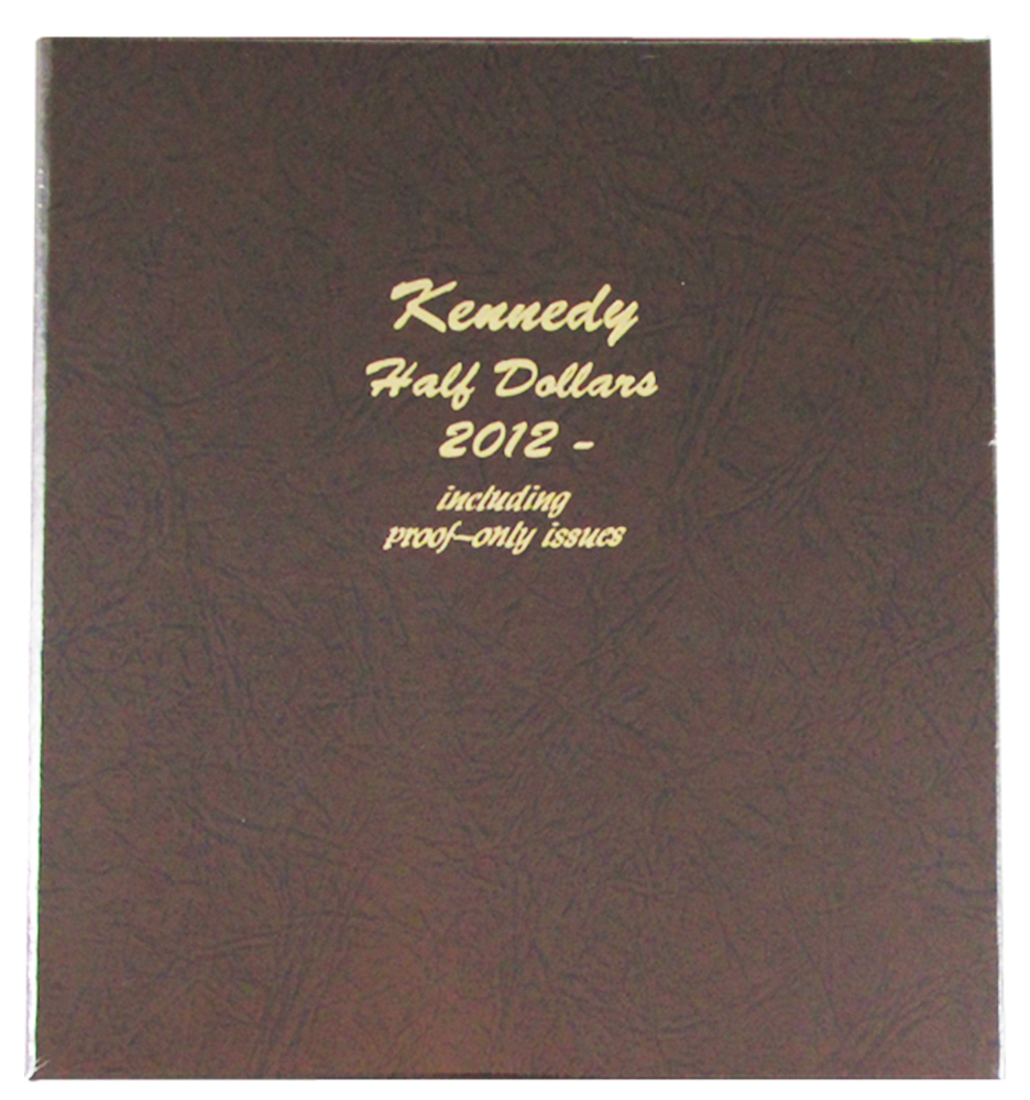 DANSCO ALBUM: US KENNEDY HALF DOLLARS+PROOF 2012-2016-S