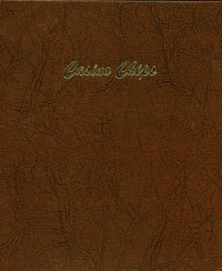 DANSCO ALBUM:CASINO CHIPS-9 VINYL PAGES, 12-2X2 POCKETS