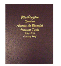 DANSCO ALBUM: NATIONAL PARK QUARTERS, 2016-21 (P,D,S  & PROOFS)