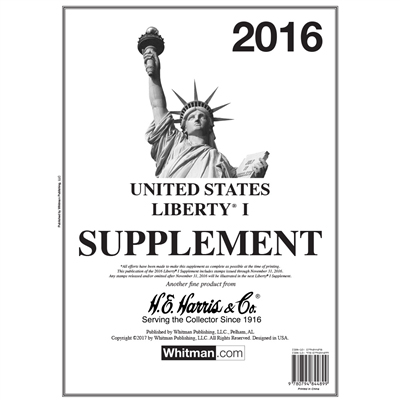 HE HARRIS LIBERTY PT.1 SUPPLEMENT 2016