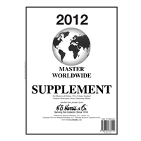 2012 HE HARRIS MASTER WORLDWIDE SUPPLEMENT