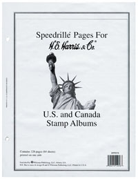 HE HARRIS US/UN/CANADA QUADRILLED BLANK PAGES (64 SHEETS)