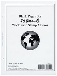 HE HARRIS WORLDWIDE BLANK PAGES (64 SHEETS - 2 SIDED)