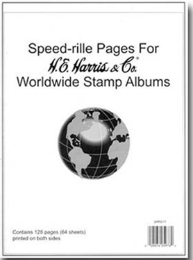 HE HARRIS WORLDWIDE QUADRILLED BLANK PAGES (64 SHEETS - 2 SIDED)