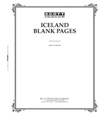 BLANK PAGES: ICELAND (20 PAGES)