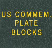 LABEL: US COMMEMORATIVE PLATE BLOCKS