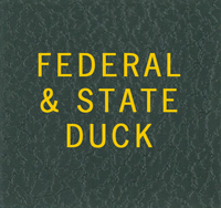 LABEL: FEDERAL & STATE DUCK