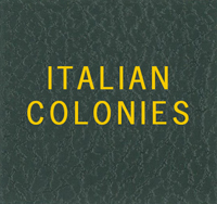 LABEL: ITALIAN COLONIES