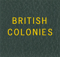 LABEL: BRITISH COLONIES