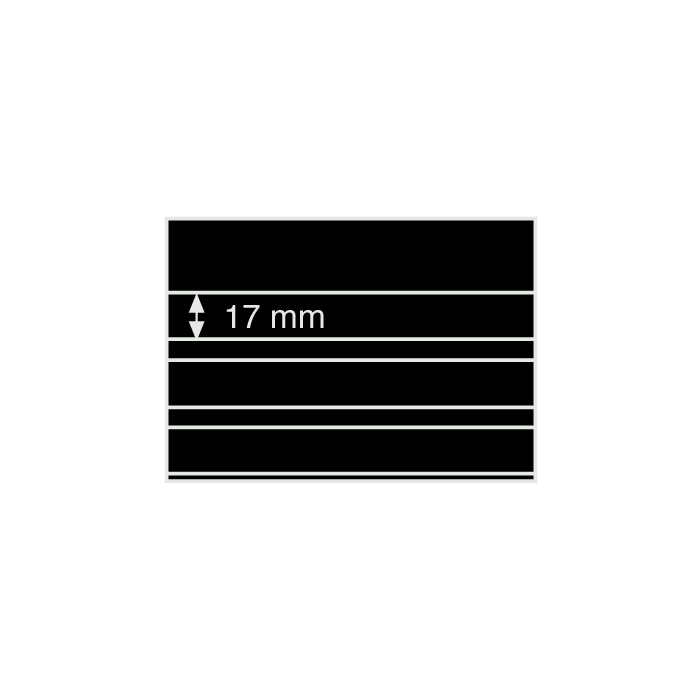 "Black 3-Pocket Approval Cards - 6.25"" x 4.5"" (100-Pack)"