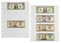 LIGHTHOUSE GRANDE 4C 4-POCKET CURRENCY PAGES (PACK OF 5)