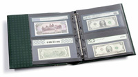 LIGHTHOUSE GRADED CURRENCY ALBUM (BLACK)