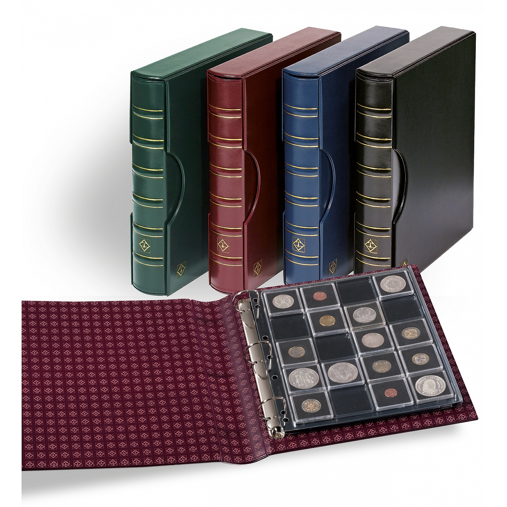 Lighthouse Grande Quadrum Album Set - Burgundy