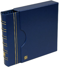 LIGHTHOUSE GRANDE COIN ALBUM & SLIPCASE (BLUE)