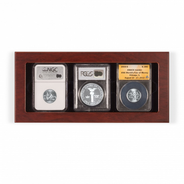 VOLTERRA Glass-Top Display Box - 3 Certified Slabs