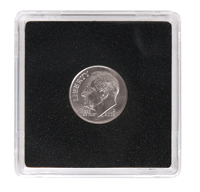 LIGHTHOUSE 18MM QUADRUM 2X2- US DIMES, $2.50 GOLD (BOX OF 10)