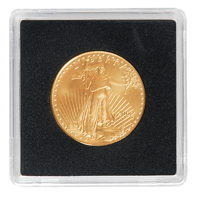 LIGHTHOUSE 27MM QUADRUM 2X2-OLD REC.- US SMALL $, $10 GOLD, 1/2OZ GOLD EAGLE (BOX OF 10)