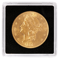 LIGHTHOUSE 34MM COIN QUADRUM 2X2- US $20 GOLD (BOX OF 10)