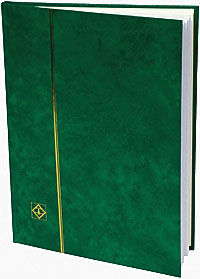 LIGHTHOUSE: STOCKBOOK 16 WHITE PAGES/GREEN