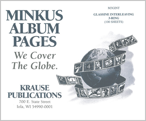 MINKUS: 3-RING GLASSINE INTERLEAVING (100 SHEETS)(8.5x11)