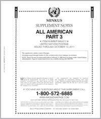 MINKUS: ALL-AMERICAN 2011 PT. 3 UNITED NATIONS (21 PAGES)