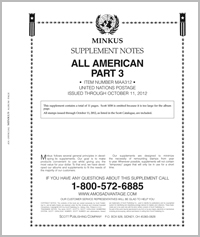 MINKUS: ALL-AMERICAN 2012 PT. 3 UNITED NATIONS (12 PAGES)